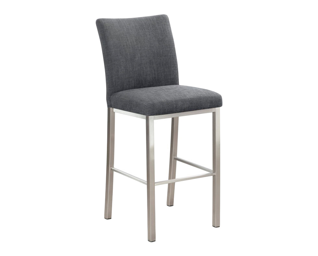 Linoso Charcoal | Trica Biscaro Stool