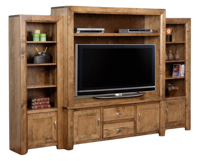 Brushwork Wheat | Handstone Contempo Wall Unit