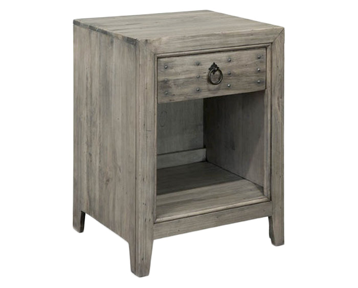Trenton Grey | Durham Distillery 1 Drawer Night Stand