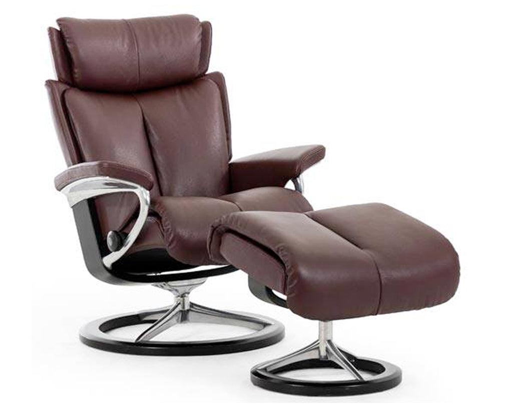 Paloma Chocolate | Stressless Magic Signature Recliner