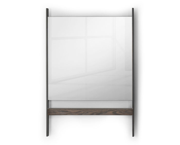 Anthracite and Vintage Oak | Trica Matuvu Mirror