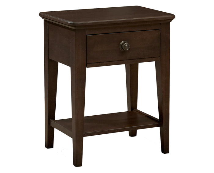 Espresso | Durham Perfect Balance Millcroft 1 Drawer Night Stand