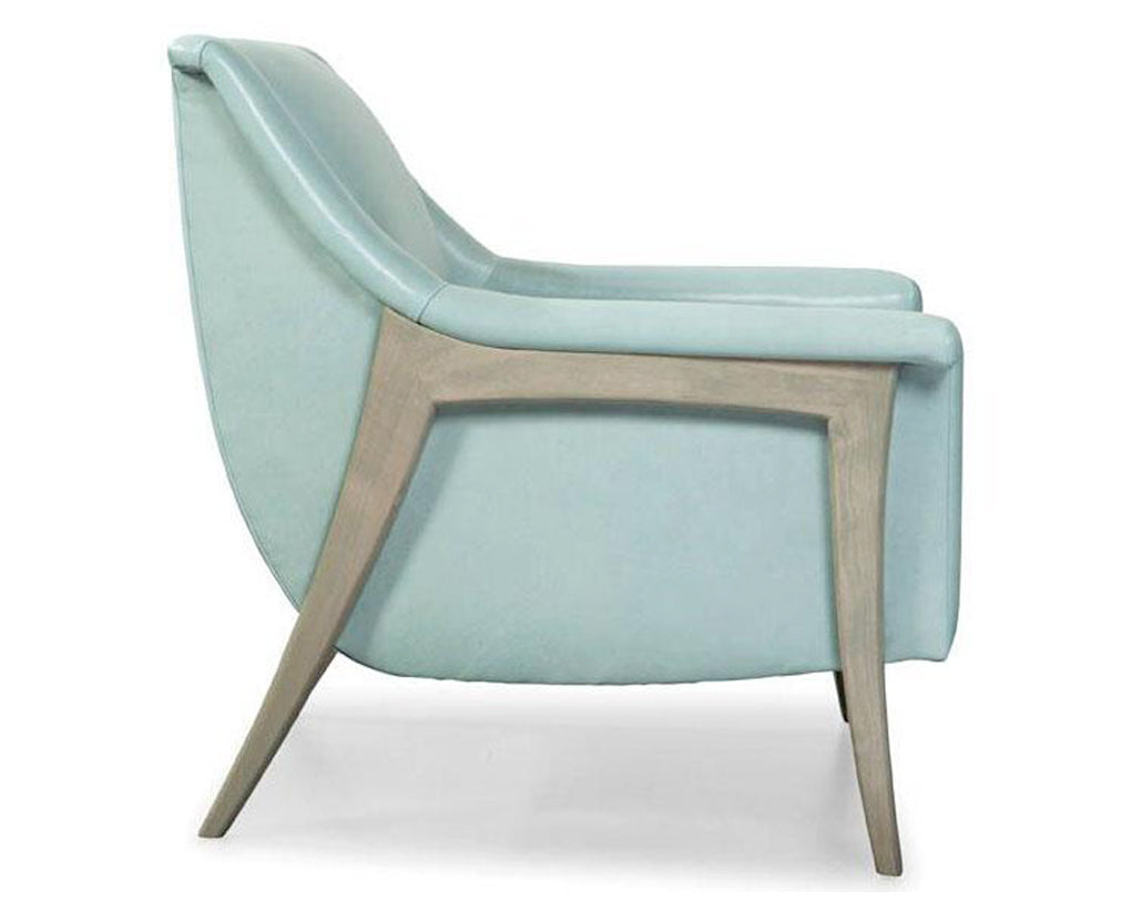 Robin's Egg Blue | Younger Muse Chair