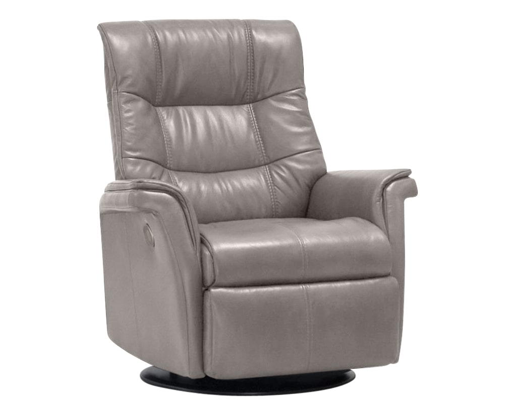 Trend Leather Cinder | Norwegian Comfort Denver Recliner | Valley Ridge Furniture