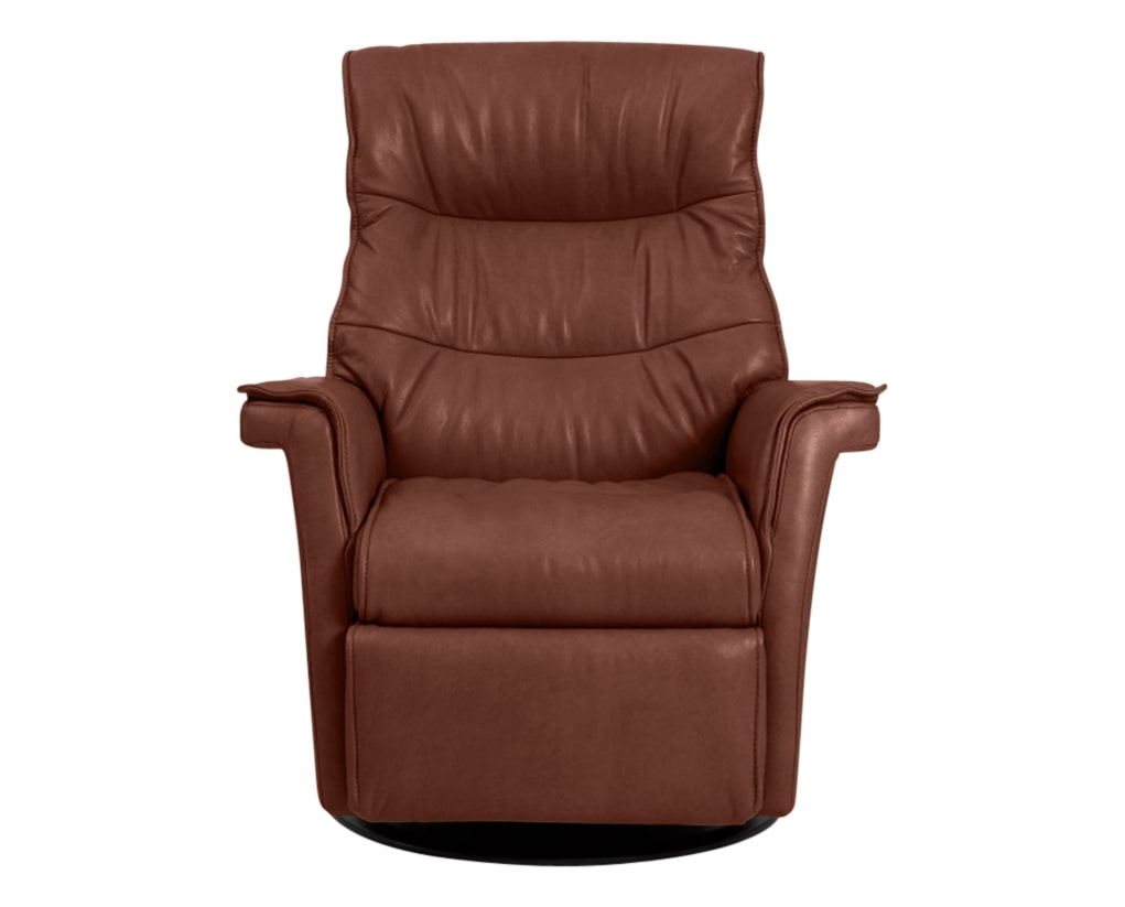 Trend Leather Cognac | Norwegian Comfort Chelsea Recliner | Valley Ridge Furniture