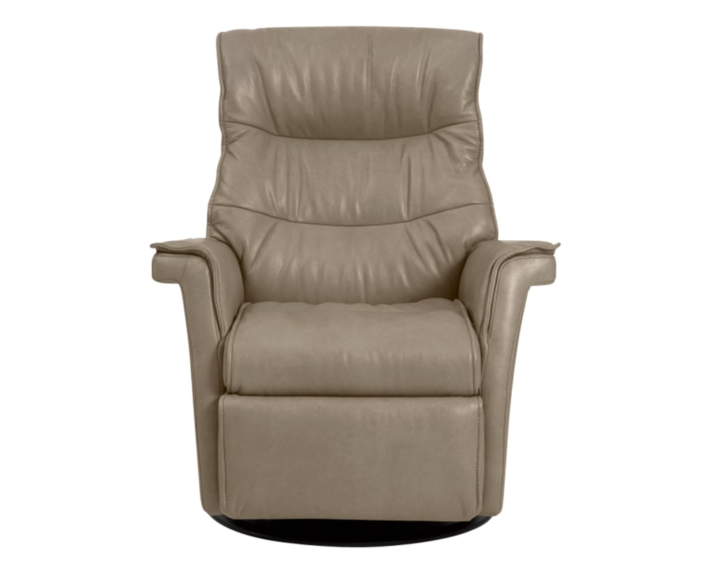 Trend Leather Pebble | Norwegian Comfort Chelsea Recliner | Valley Ridge Furniture