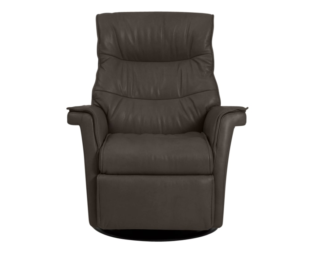 Trend Leather Smoke | Norwegian Comfort Chelsea Recliner | Valley Ridge Furniture