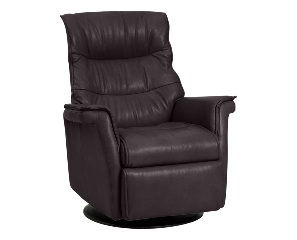 Trend Leather Chocolate | Norwegian Comfort Chelsea Recliner | Valley Ridge Furniture