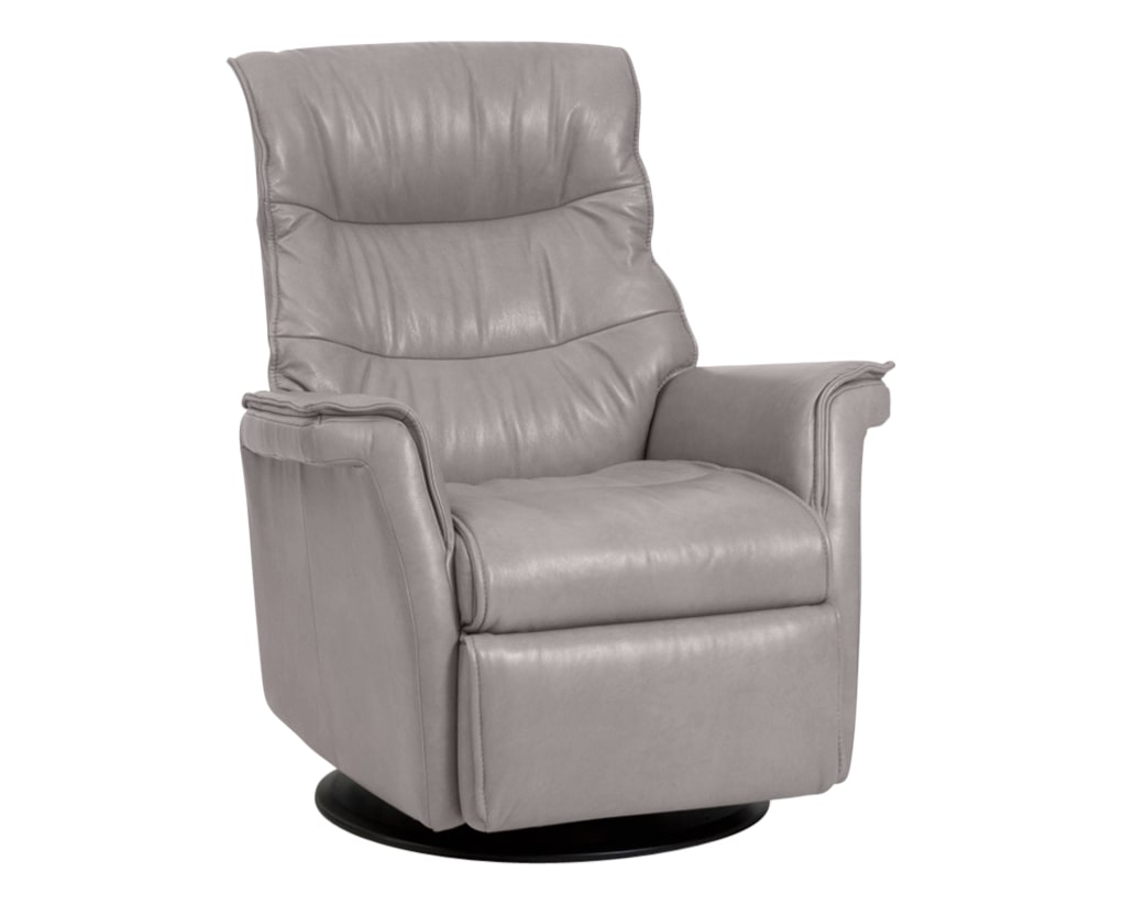 Trend Leather Cinder | Norwegian Comfort Chelsea Recliner | Valley Ridge Furniture