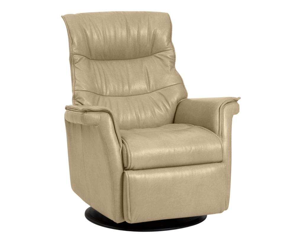 Trend Leather Sand | Norwegian Comfort Chelsea Recliner | Valley Ridge Furniture