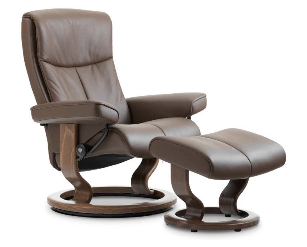 Paloma Chestnut | Stressless Peace Classic Recliner