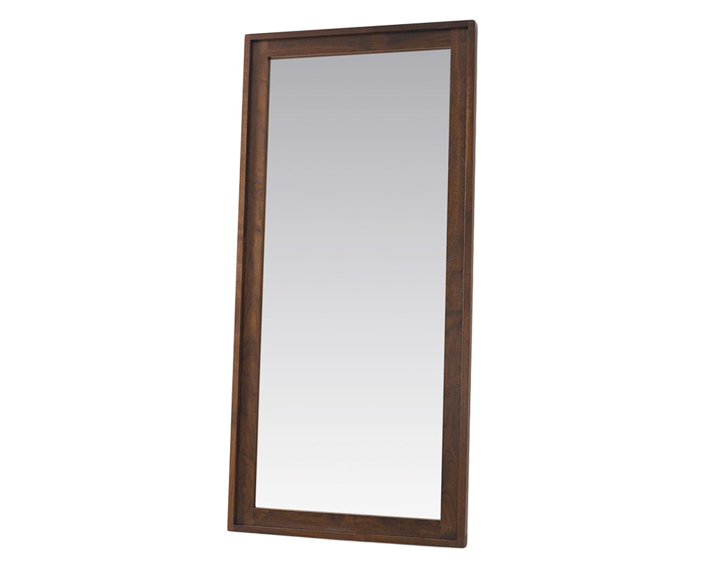 Walnut | West Bros Phase Floor Mirror
