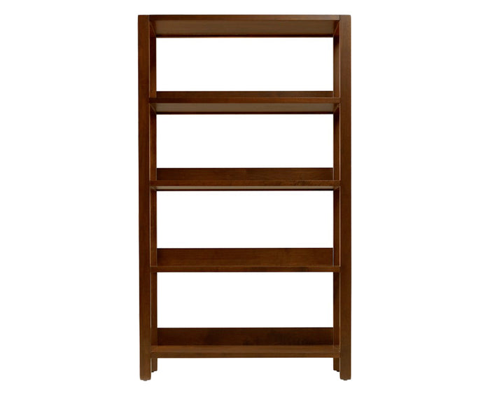 Walnut | West Bros Phase Large Bookcase