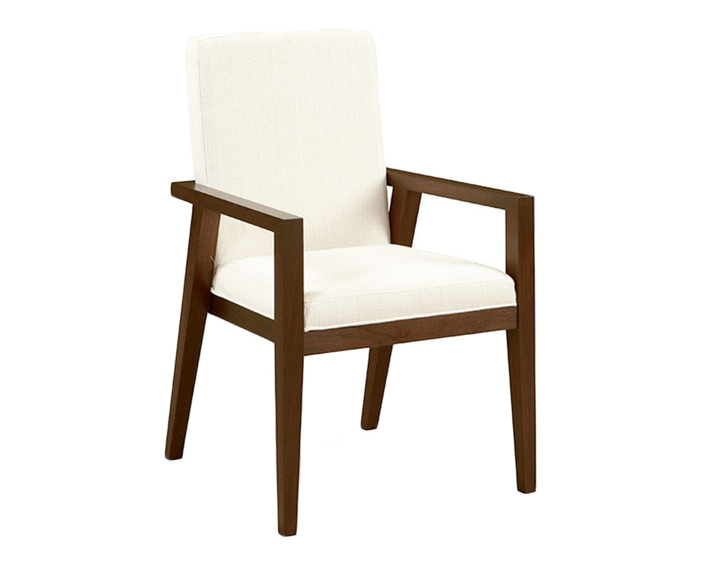 Walnut | West Bros Phase Parson Arm Chair