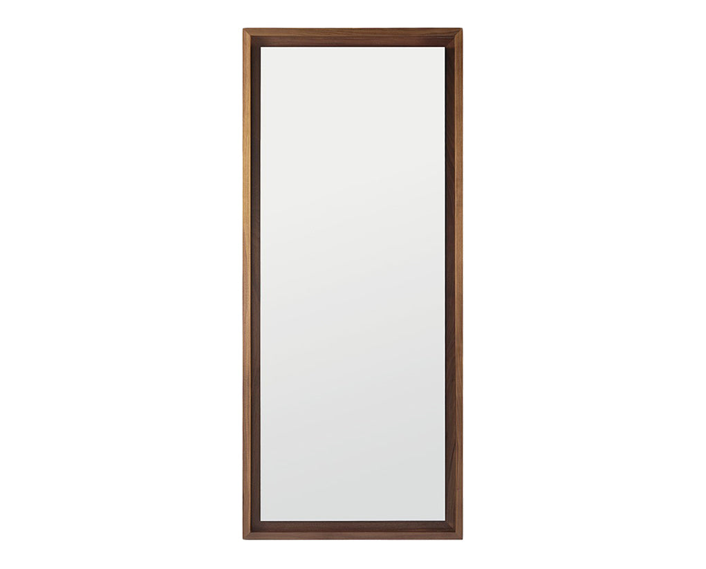 Coffee | West Bros Serra Floor Mirror