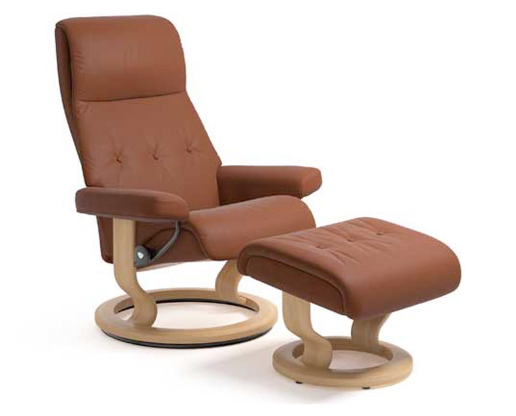 Paloma Copper | Stressless Sky Classic Recliner