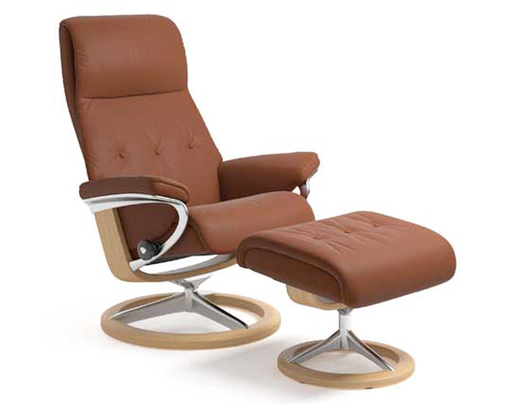 Paloma Copper | Stressless Sky Signature Recliner