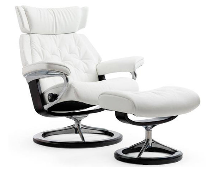 Batick Snow | Stressless Skyline Signature Recliner