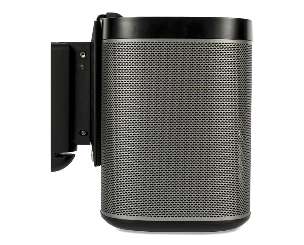 Black | Sonos Play 1 Wall Mount