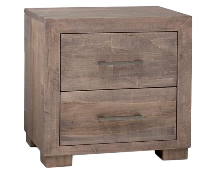 Driftwood | Handstone Steel City Nightstand