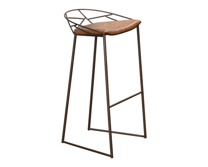 Crazy Horse Saddle Brown | Trica Stem Stool