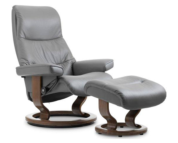 Paloma Metal Grey | Stressless View Classic Recliner