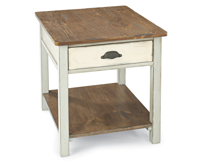 Pine | Flexsteel Chateau End Table