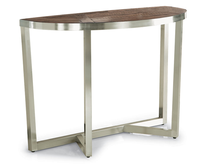 Rustic Acacia | Flexsteel Axis Sofa Table