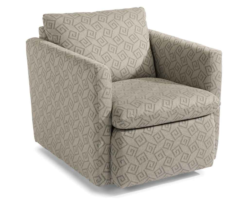 Rain | Flexsteel Kendall Swivel Chair