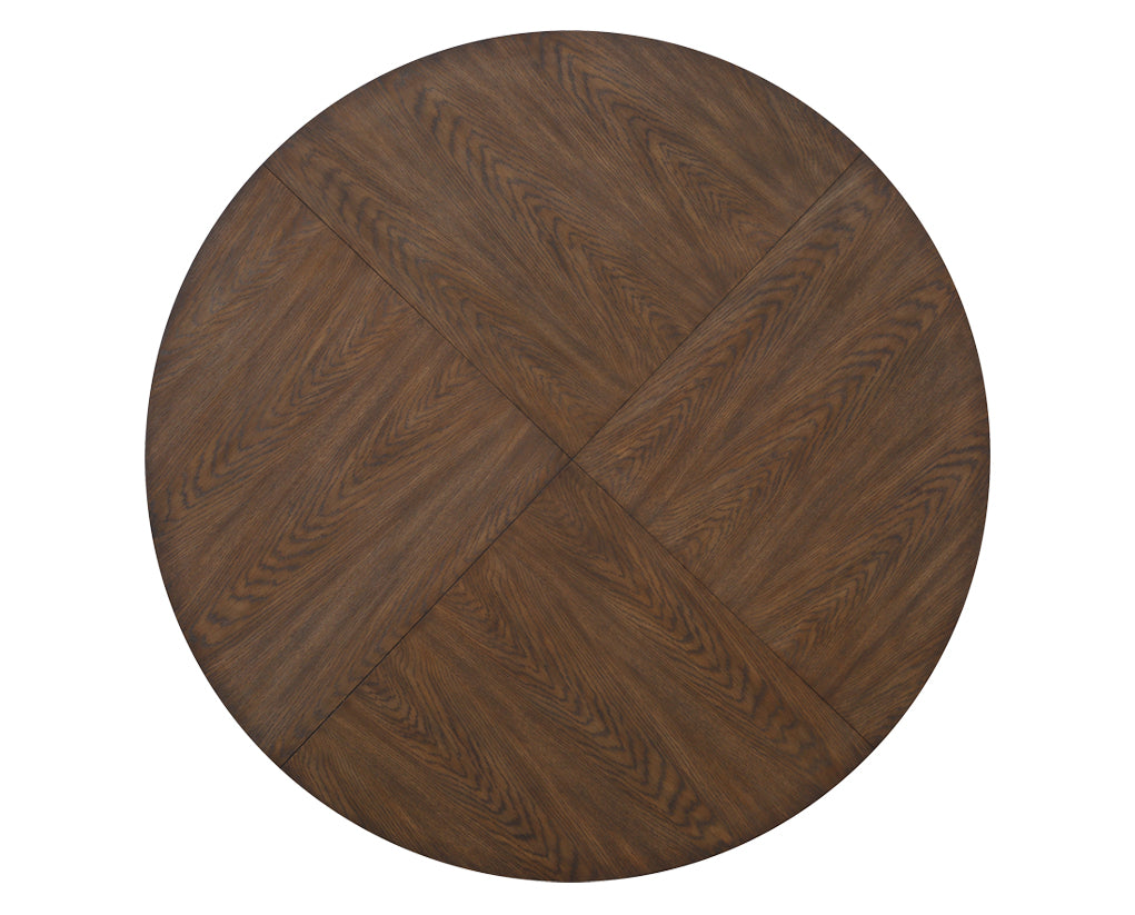 Warm Brown | Flexsteel Maximus Round Coffee Table