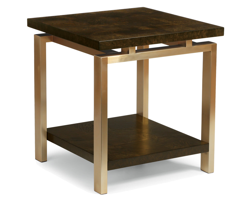 Ash Burl | Flexsteel Maya End Table