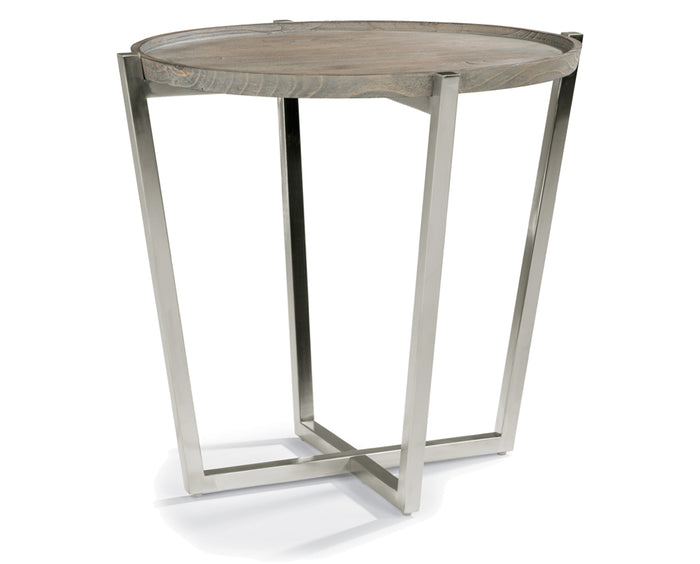 Gray | Flexsteel Platform End Table