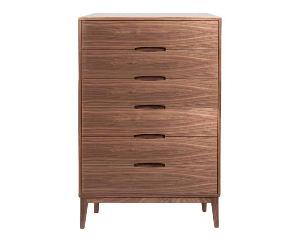 Natural Walnut | Mobican Leila High Chest