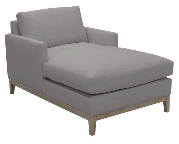 Douglas Fabric Nickel | Camden Manhattan Chaise | Valley Ridge Furniture