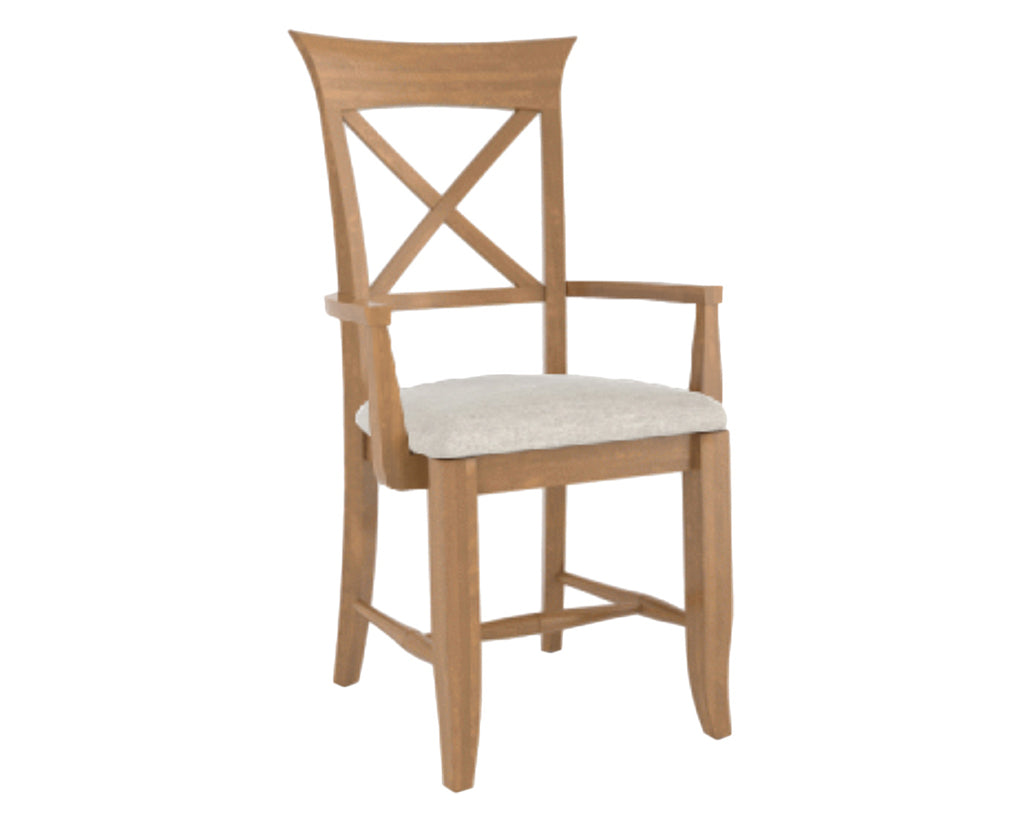 Fabric TB | Canadel Core Dining Chair 1258