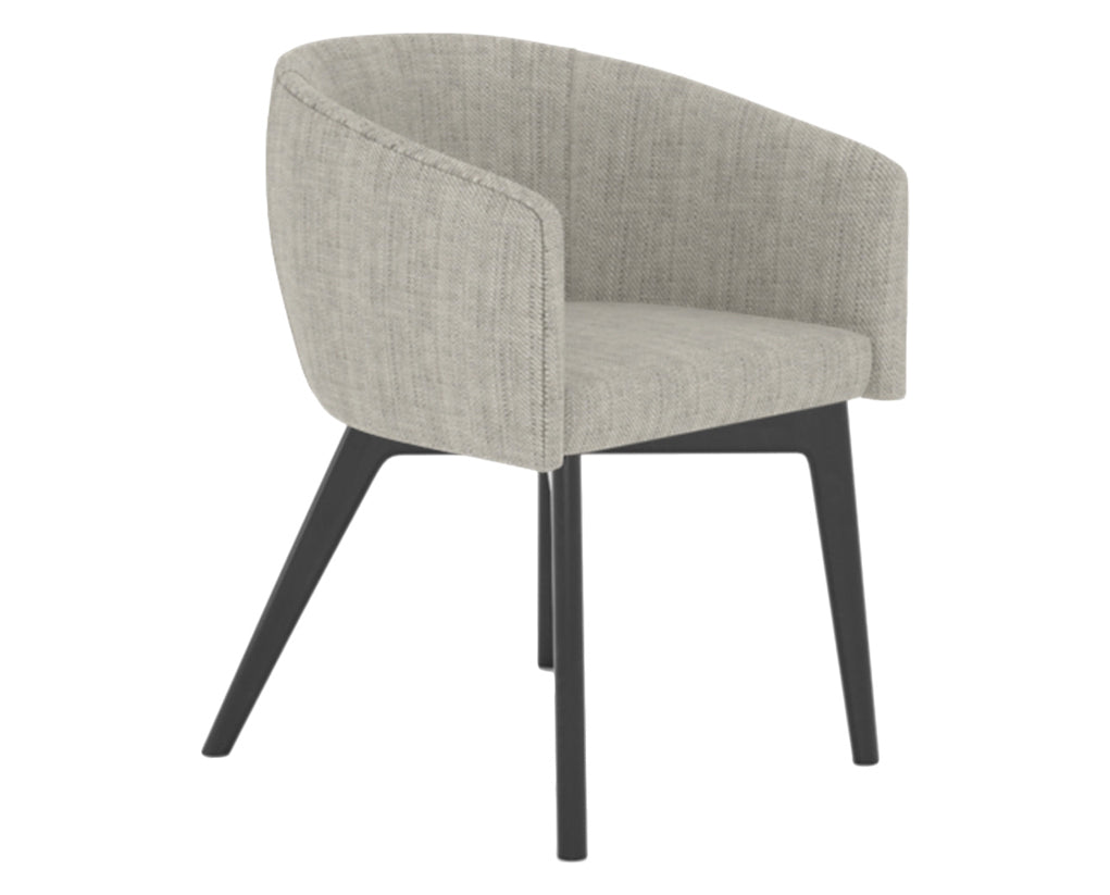 Peppercorn Washed | Canadel Downtown Dining Chair 5138