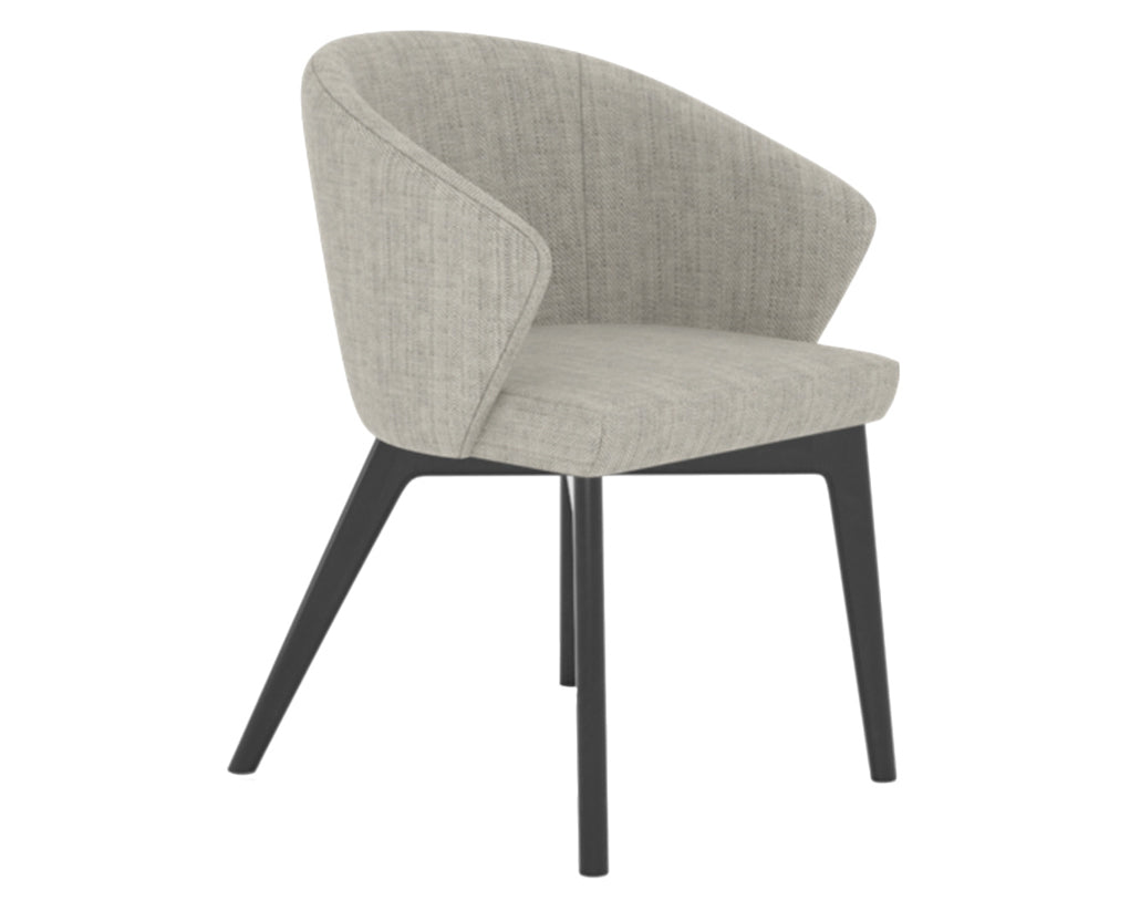 Peppercorn Washed | Canadel Downtown Dining Chair 5139