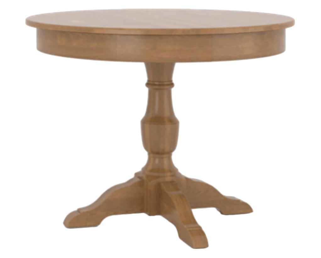 Honey Washed | Canadel Core Dining Table 4242 with XP Base