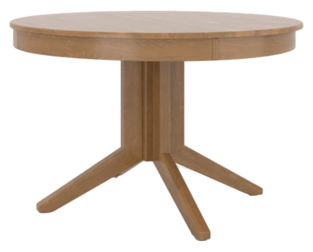 Honey Washed | Canadel Core Dining Table 4848 with XQ Base