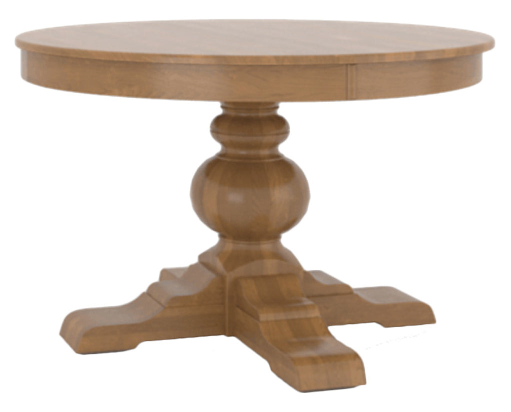 Honey Washed | Canadel Core Dining Table 4848 with XT Base