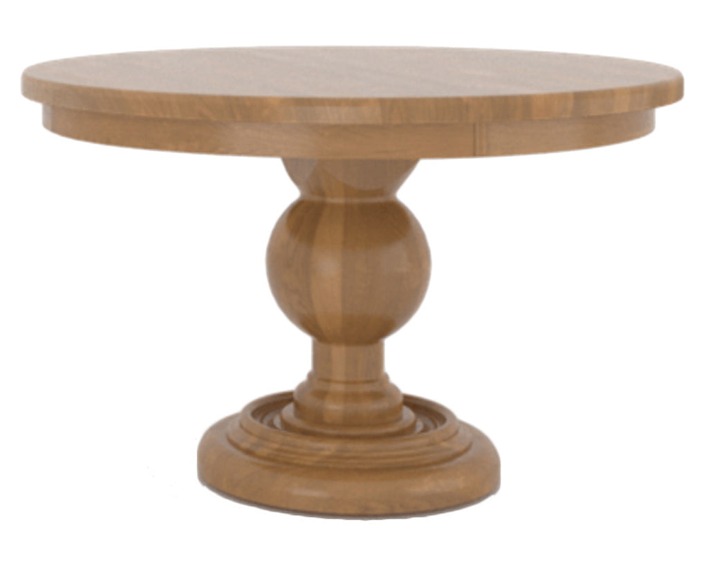 01 Honey Washed | Canadel Farmhouse Chic Dining Table 4848