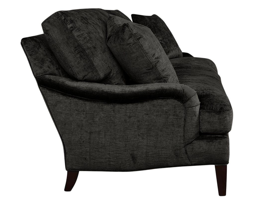 Drake Fabric Charcoal | Lee Industries 1563 Sofa | Valley Ridge Furniture