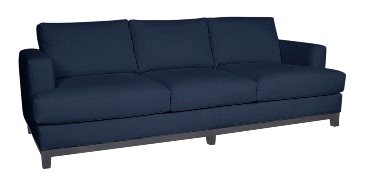 Jumper Fabric Indigo | Lee Industries 3475 Sofa | Valley Ridge Furniture