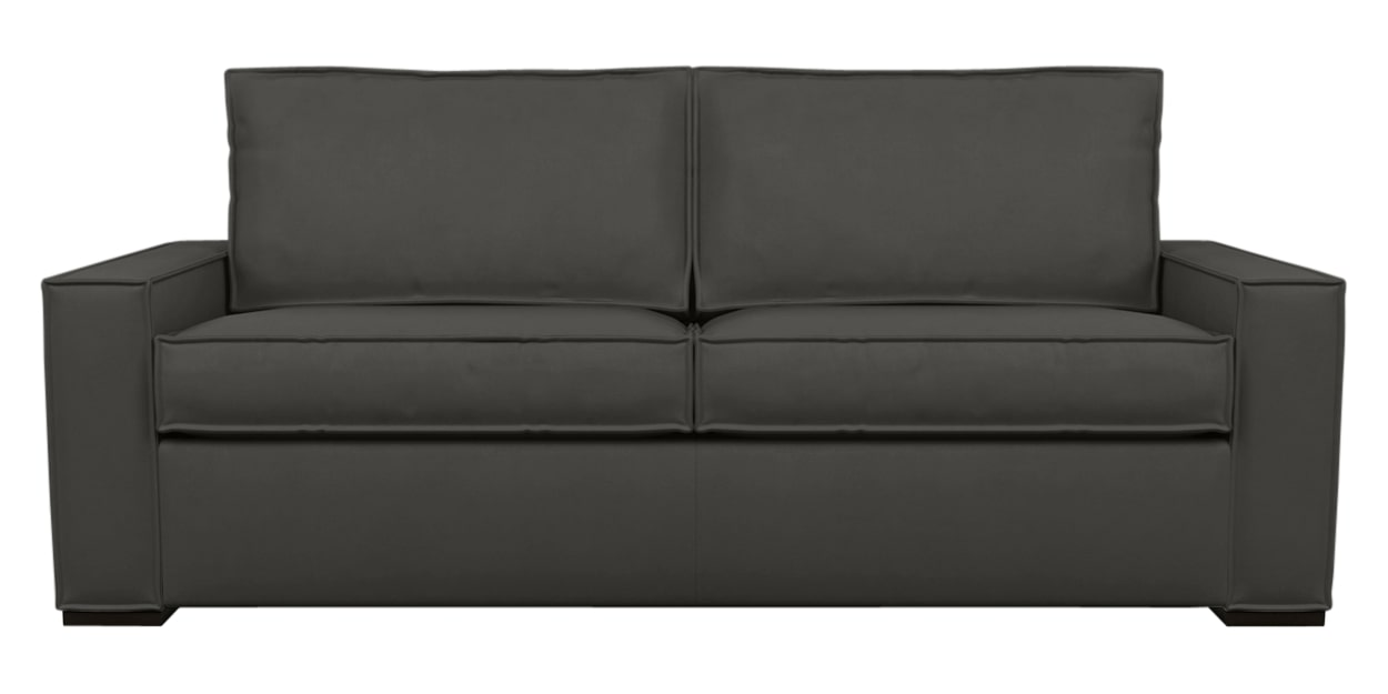 Aura Fabric Espresso | American Leather Madden Comfort Sleeper | Valley Ridge Furniture