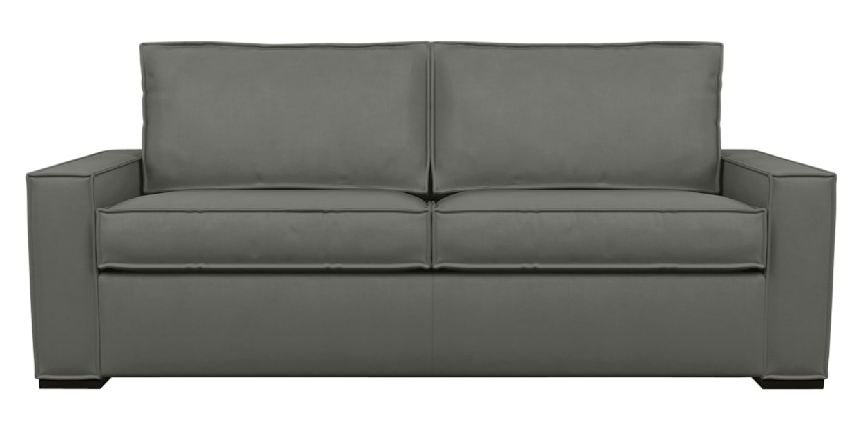 Aura Fabric Flint | American Leather Madden Comfort Sleeper | Valley Ridge Furniture