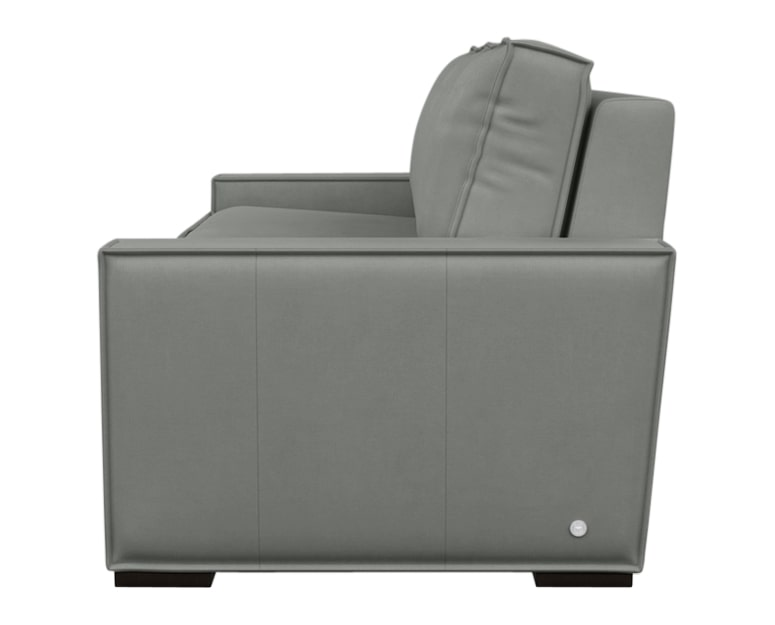 Aura Fabric Pewter | American Leather Madden Comfort Sleeper | Valley Ridge Furniture