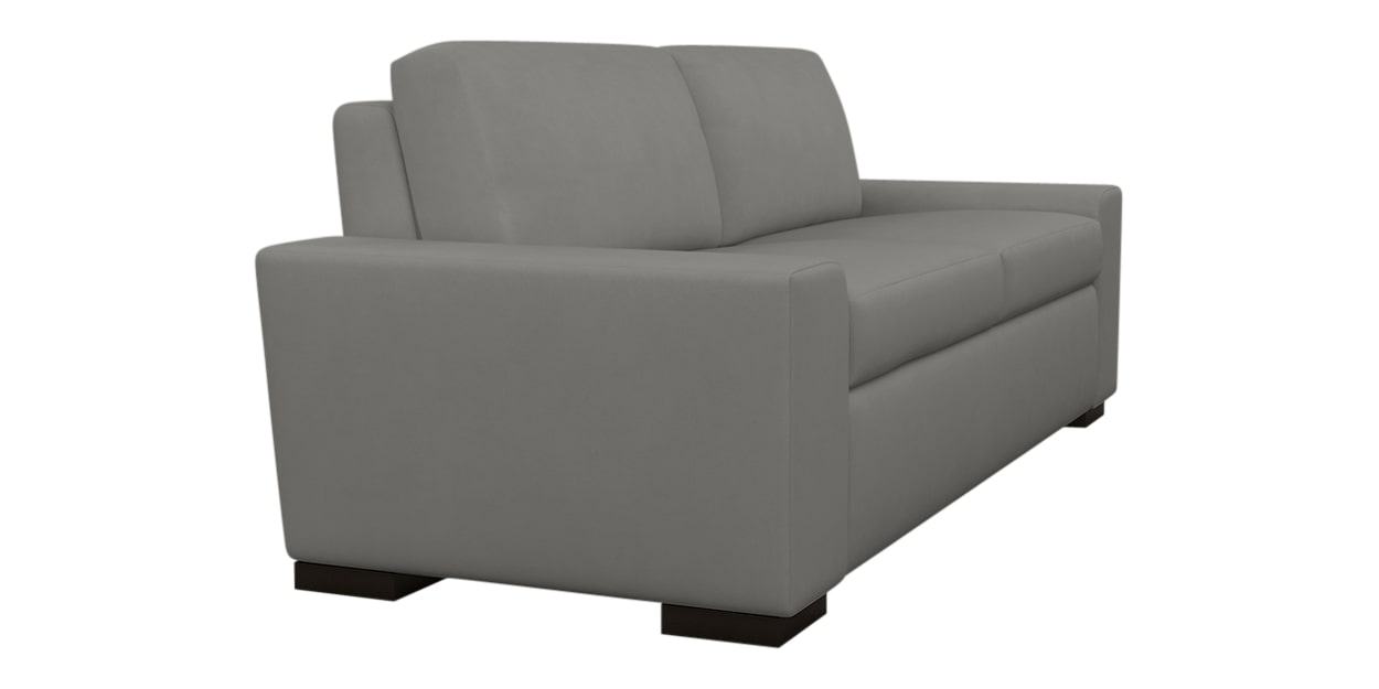 Aura Fabric Pewter | American Leather Olson Comfort Sleeper | Valley Ridge Furniture