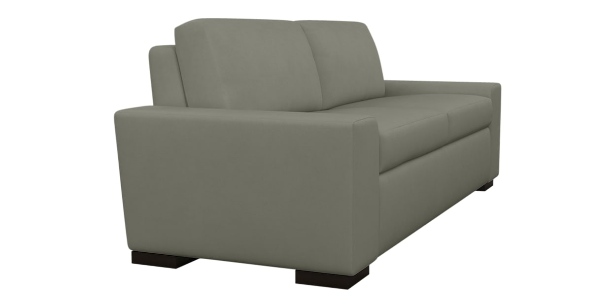 Aura Fabric Taupe | American Leather Olson Comfort Sleeper | Valley Ridge Furniture