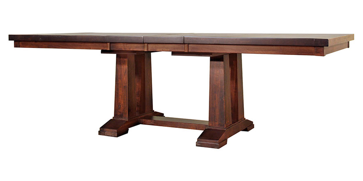 Rich Tobacco | Ruff Sawn Athens Table