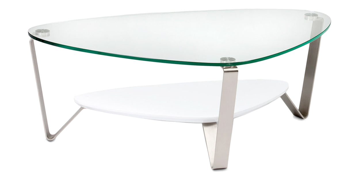 Gloss White | BDI Dino Coffee Table